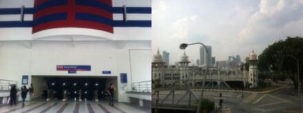 クアラルンプールのDang Wangi駅