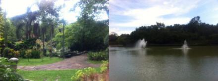 クアラルンプールのレイク・ガーデン