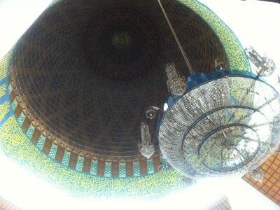 クアラルンプールのブルー・モスク