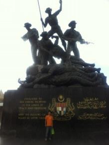 クアラルンプールの国家記念碑