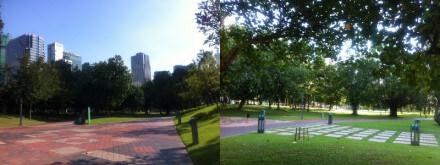 クアラルンプールのKLCC公園