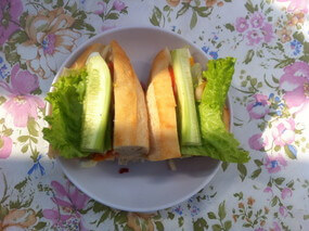 ルアンパバーンの食事