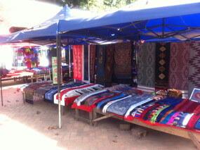 ルアンパバーンのトライバルマーケット