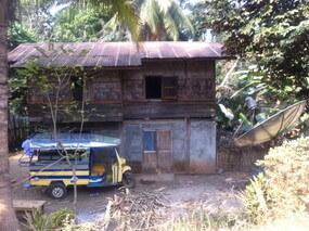 ルアンパバーンの村を観光