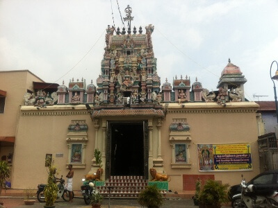 ジョージタウンのマハ・マリアマン寺院