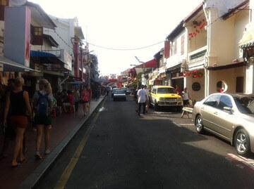 マラッカのチャイナタウン