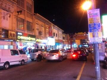マラッカのインド人街
