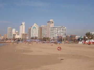 ダーバンのビーチ
