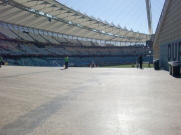 南アフリカのダーバンスタジアム