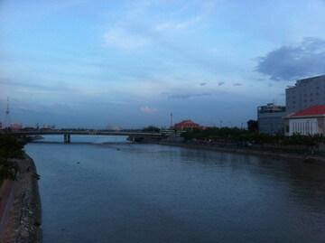ホーチミンのサイゴン川