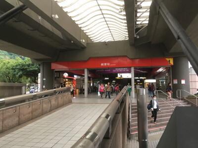 台北の剣潭駅