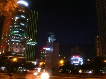 ホーチミンのメリン広場