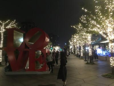 台北のイルミネーション