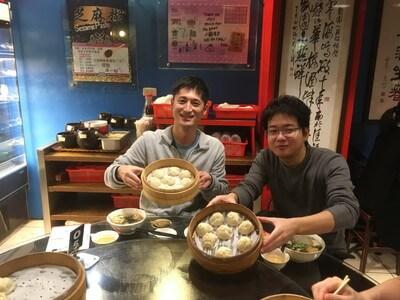 台北の中華料理屋