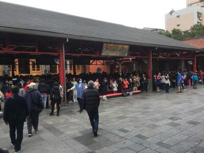 台北の仰天宮