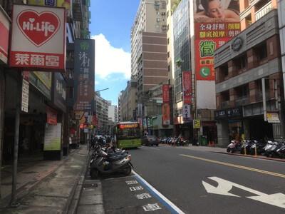 台北の西門駅周辺