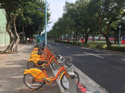 台北のレンタサイクル