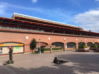 台北の淡水駅周辺