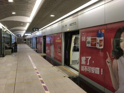 台北の電車