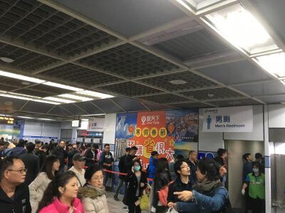 台北のカウントダウン花火