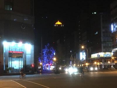台北駅からホテルへ