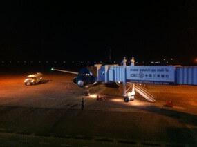 ラオスのビエンチャン空港