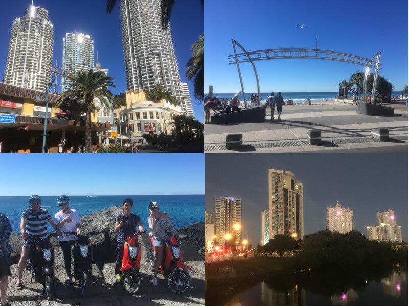 ゴールドコースト&サーファーズパラダイス観光
