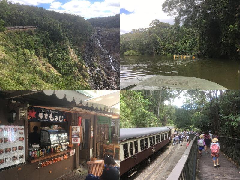 バロン滝とキュランダ観光