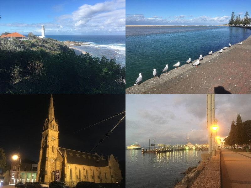 セントラルコーストとニューカッスル観光