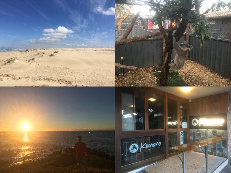 オーストラリアのポートスティーブンス&ソーテル観光