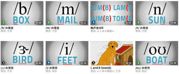English Centralの発音動画
